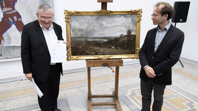 La Chaux-de-Fonds: le John Constable restitué aux héritiers Jaffé