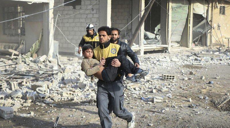 L'offensive du régime a fait près de 1200 morts parmi les civils depuis le 18 février.