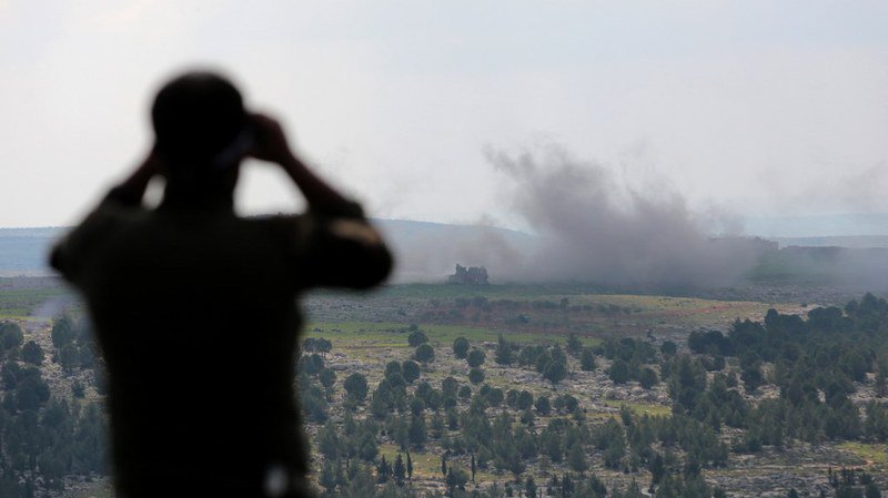 Syrie: plus de 30'000 civils ont fui les bombardements turcs sur Afrine ces dernières 24 heures