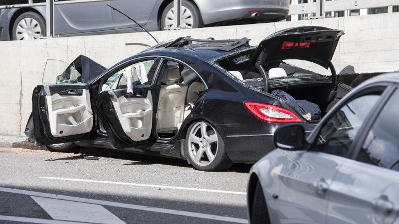 Un violent accident de la circulation fait plusieurs blessés à Zurich
