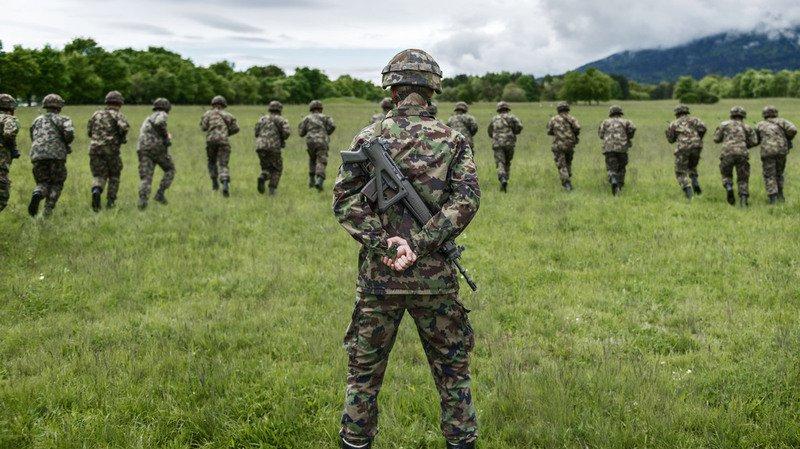 Armée: le Service social a versé 1,13 million de francs en 2017, soit 610'000 francs de moins qu'en 2016