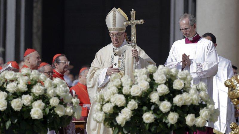 Sécurité: le pape célèbre la messe de Pâques sous haute surveillance