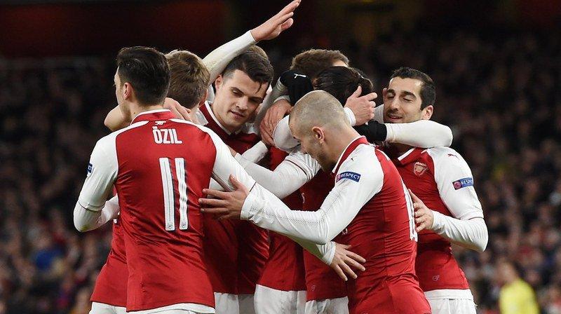 Europa League: Arsenal a de grandes chances d'accéder aux demi-finales
