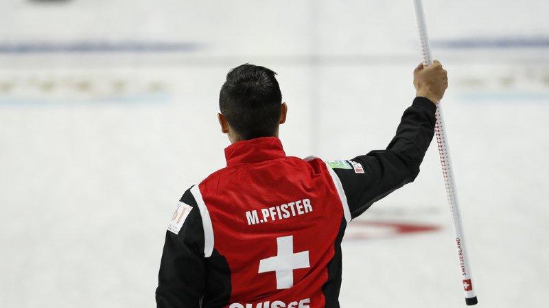Curling: la Suisse s'impose in extremis au championnat du monde de Las Vegas