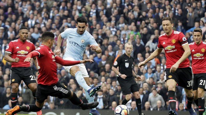 Football: Manchester United s'impose 3-2 face à City et s'adjuge le derby