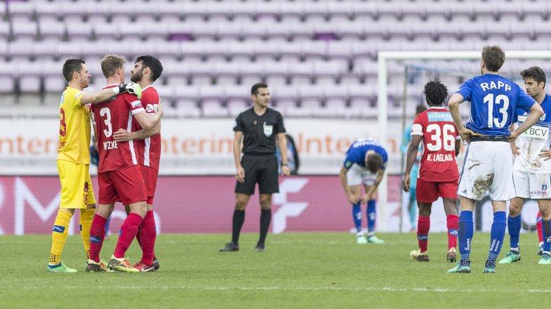Archidominateurs, les Valaisans sont allés remporter 2-0 le derby romand de Super League contre Lausanne.