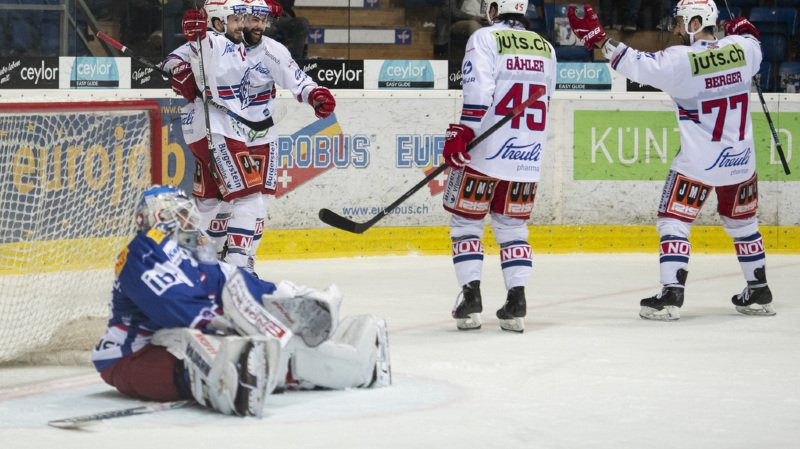 Hockey - National/Swiss League: Kloten perd le premier match de promotion-relégation