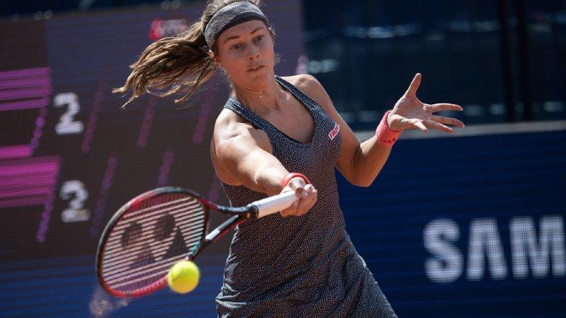 Tennis: Stefanie Voegele éliminée en demi-finale
