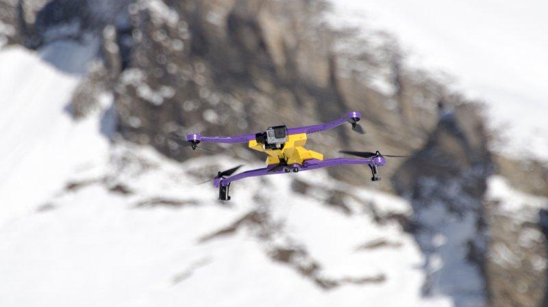 Drones interdits de vol sur la Patrouille des glaciers