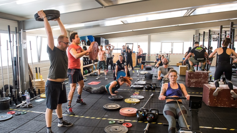 Le CrossFit975 a fêté ses 3 ans en suant «pour la bonne cause»