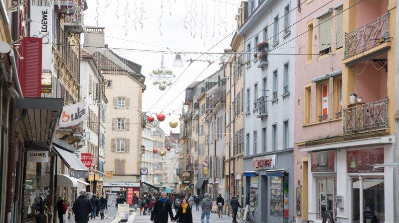 La Ville de Neuchâtel souhaite supprimer les trolleybus à la rue du Seyon.