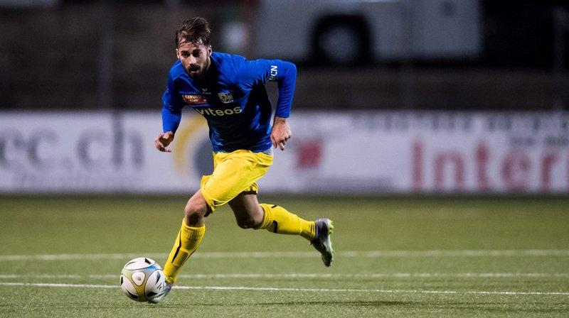 Juan Manuel Parapar ne portera plus les couleurs du FC La Chaux-de-Fonds (FCC).
