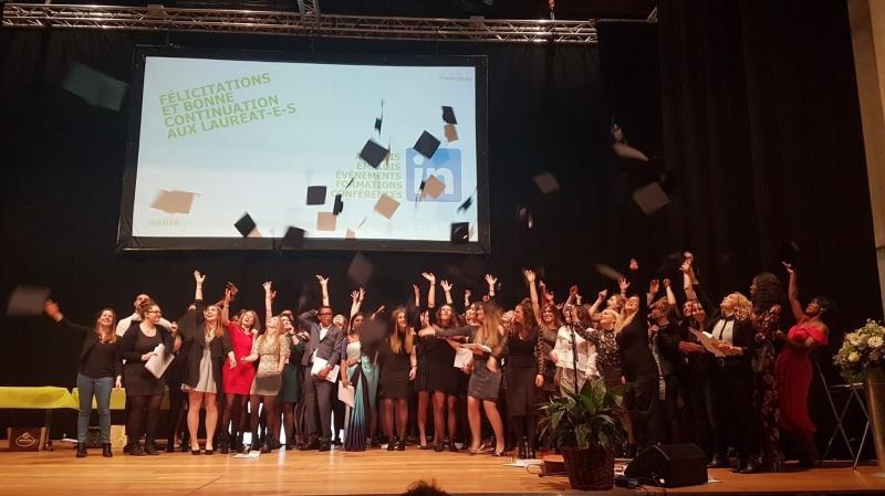 La HE-Arc santé compte 76 nouveaux lauréats