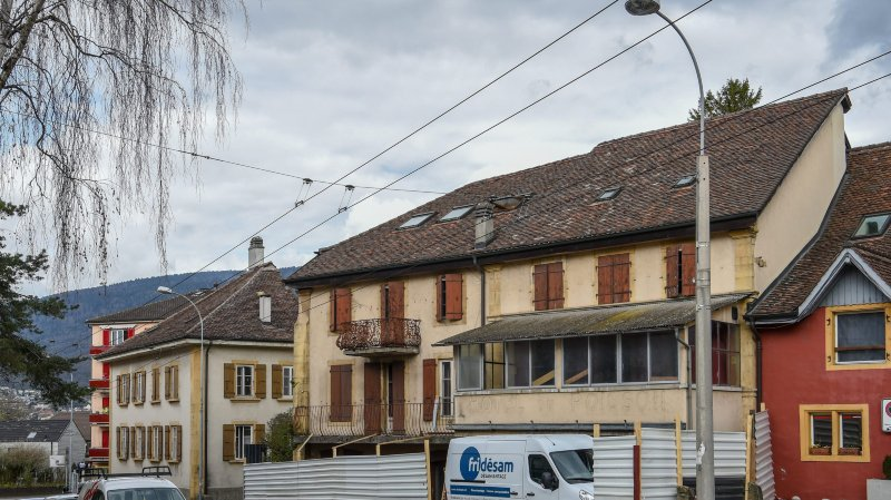 La bâtisse de l'ancien restaurant Le Poisson sera transformée en 33 studios.