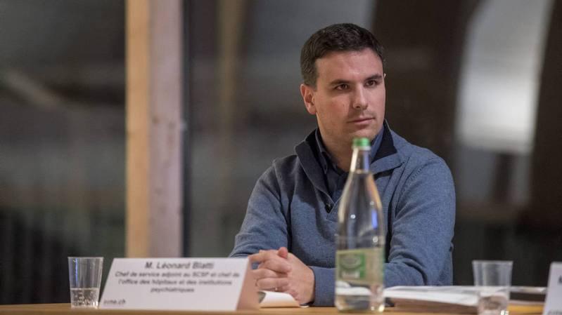 Léonard Blatti est actuellement adjoint au chef de service cantonal de la santé publique.