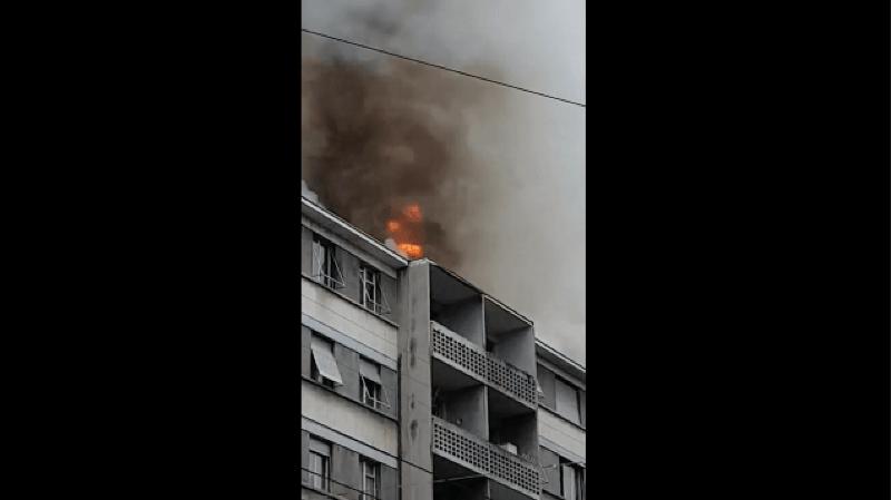 Genève: un important incendie s'est déclaré dans le quartier de la Servette