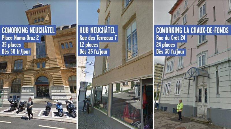 Le coworking se fait une place à Neuchâtel