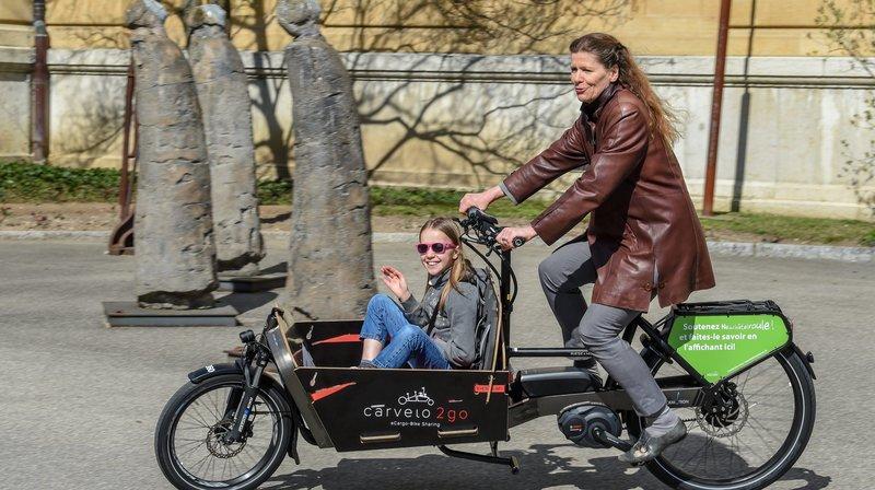 Des vélos-cargo électriques pour Neuchâtelroule
