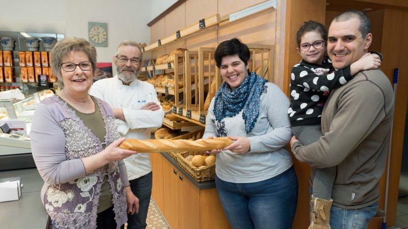 Après 28 ans, les époux Garnier remettent leur boulangerie-pâtisserie à Saint-Blaise