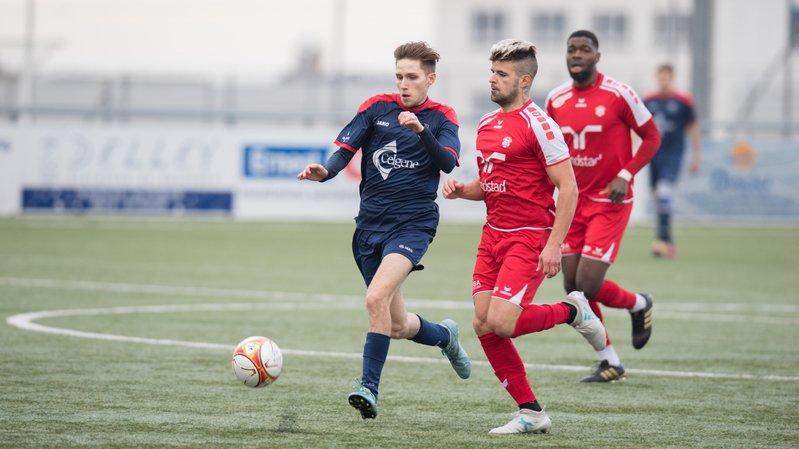Football: Boudry chute lourdement d'entrée contre Bulle