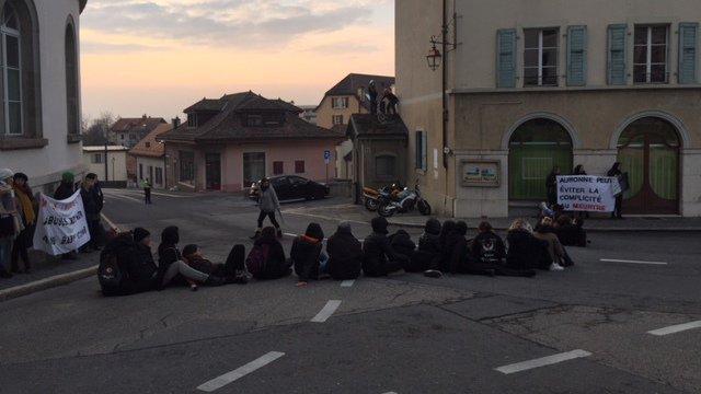 Manifestation: la police interpelle 35 militants antispécistes à Aubonne (VD)