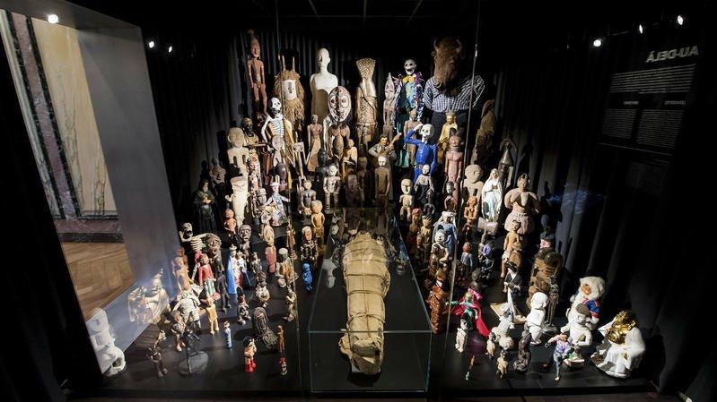 La momie est de retour pour animer le musée d'ethnographie de Neuchâtel