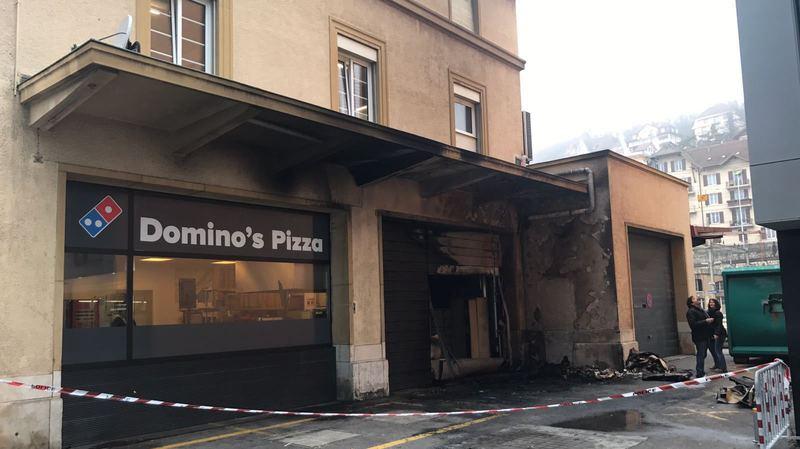 Irresponsable, l'incendiaire de Domino's Pizza sera renvoyé en Allemagne