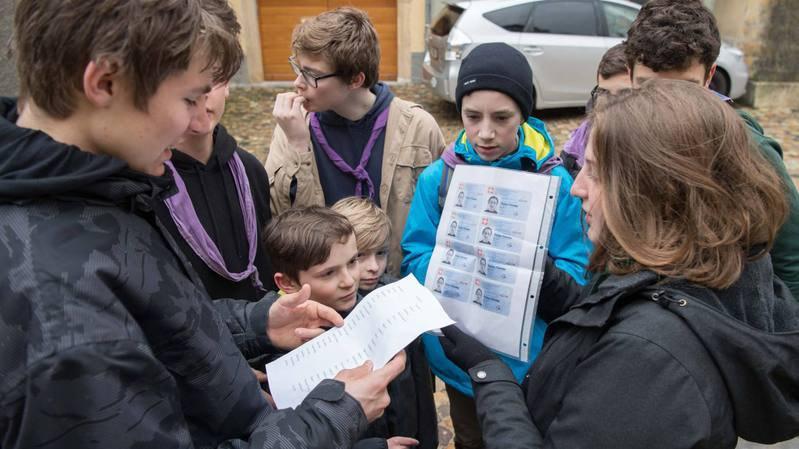 Les scouts d'Auvernier ont résolu une enquête à l'occasion de la Journée découverte du scoutisme