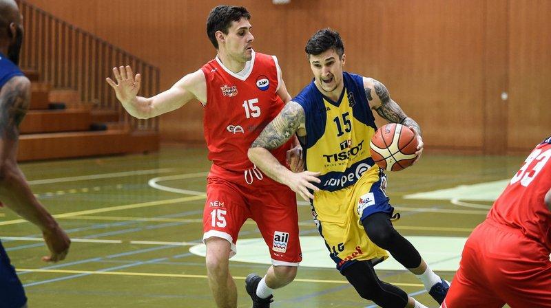 Comme attendu, le match entre Union (ici Buljan Zvonko) et Massagno a été disputé.