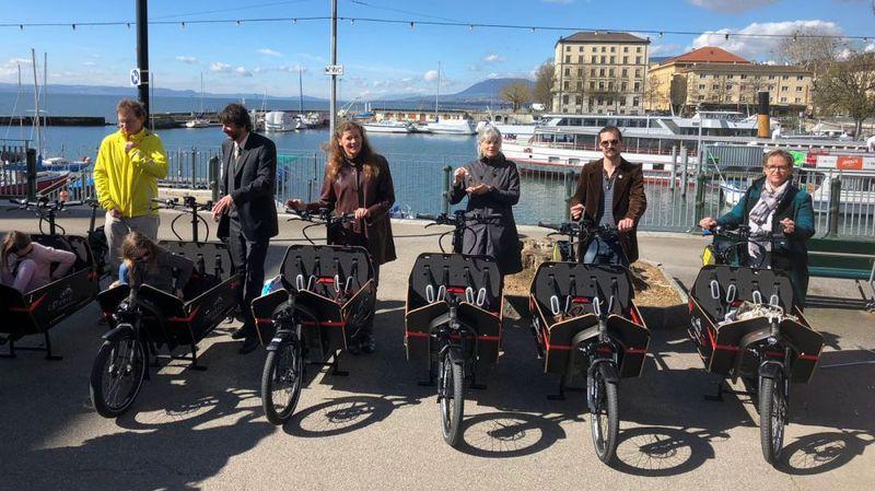 Des vélos-cargos électriques pourront être loués à Neuchâtel