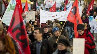 Les Neuchâtelois appelés à manifester ce samedi matin contre les mesures d'austérité