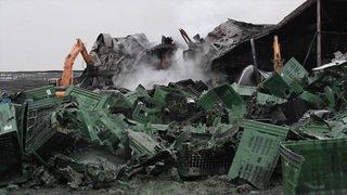 Entrepôt de fruits dévasté à Egnach (TG): dégâts de plusieurs millions