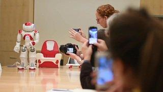 Le robot Nao au service des enfants autistes à Lausanne