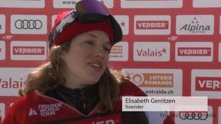 Xtreme de Verbier: la chute de la skieuse Elisabeth Gerritzen