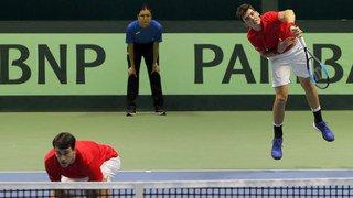 Tennis: la Suisse jouera contre la Suède à domicile en barrage de la Coupe Davis