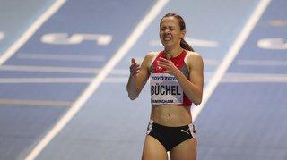 Athlétisme: débordée en finale, Selina Büchel termine 6e sur 800m aux Mondiaux en salle