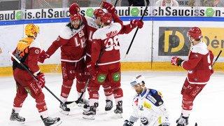 Hockey - National League: Lausanne reprend de l'air dans le 2e match contre la relégation