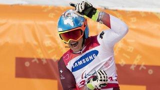 Jeux Paralympiques - Géant: 3e médaille d'or pour le Valaisan Théo Gmür