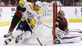 Hockey-NHL: 45 points aussi pour Kevin Fiala