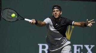 Tennis: del Potro bat Milos Raonic et rejoint Federer en finale à Indian Wells