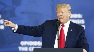 Etats-Unis: Trump vante la peine de mort contre les trafiquants de drogue