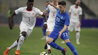 Football: grâce à un retourné de Dzemaili, la Suisse s'impose 1-0 en Grèce au terme d'un match sans éclat