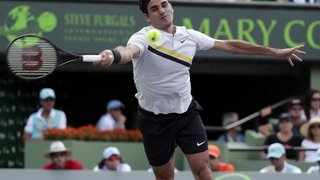 Masters 1000 de Miami: battu au premier tour, Federer perdra sa place de no 1 mondial