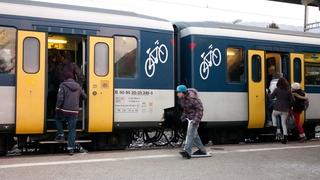 Le Landeron: quand le train veut partir trop vite