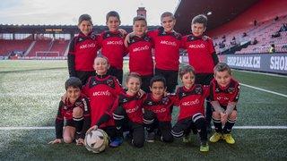 Arcinfo Kids, avec Neuchâtel Xamax FCS - FC Rapperswil-Jona