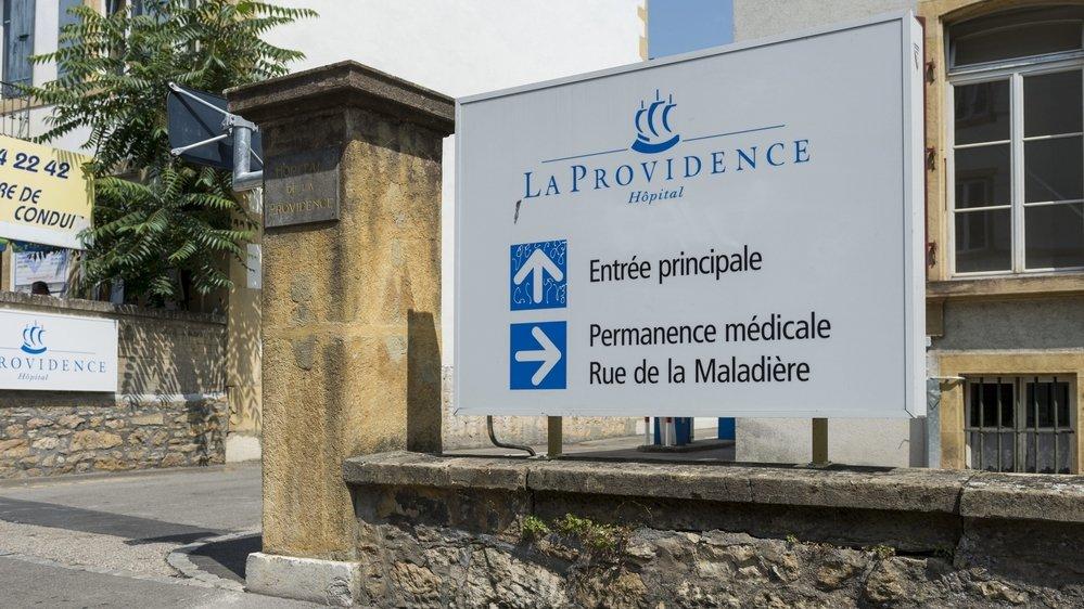 L'hôpital de La Providence accueille depuis lundi des patients du RHNE.