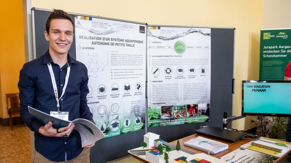 Théophile Ischer est l'un des 116 finalistes du concours national réservé aux jeunes scientifiques les plus prometteurs du pays.