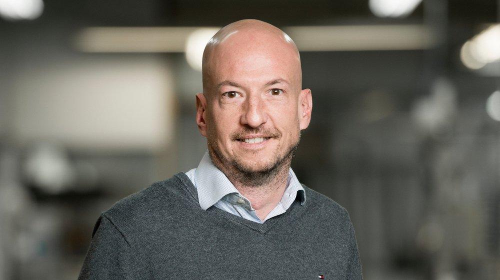 Sylvain Chave, CEO de PX Tools à La Chaux-de-Fonds.
