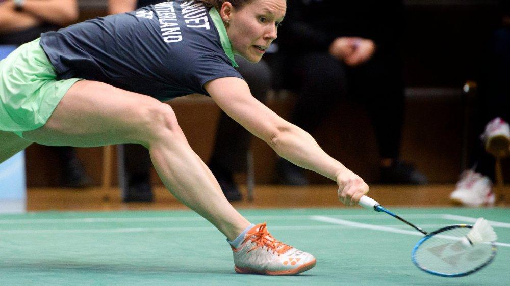 Sabrina Jaquet n'avait plus les jambes...