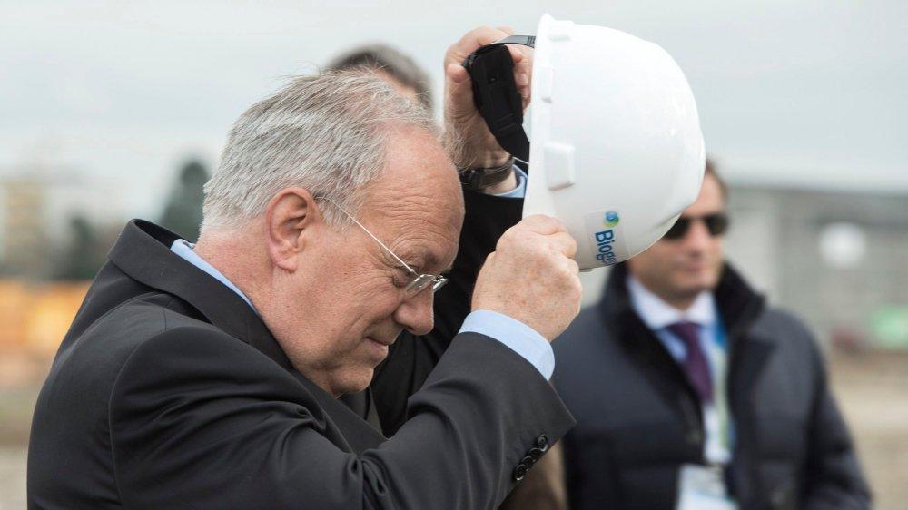 Le conseiller fédéral Johann Schneider-Ammann tirera sa révérence d'ici à l'automne 2019.
